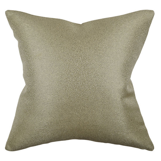 Vesper Lane Solid Metallic Chenille Throw Pillow