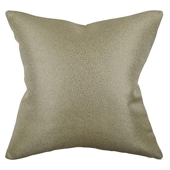 Vesper Lane Solid Metallic Chenille Throw Pillow