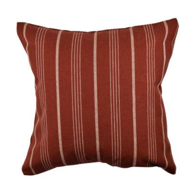 Vesper Lane Striped Jacquard Throw Pillow