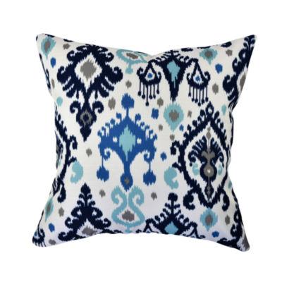 Vesper Lane Bold Bohemian Inspired Ikat Throw Pillow