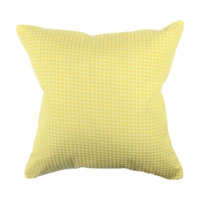 Vesper Lane Polka Dot Jacquard Throw Pillow