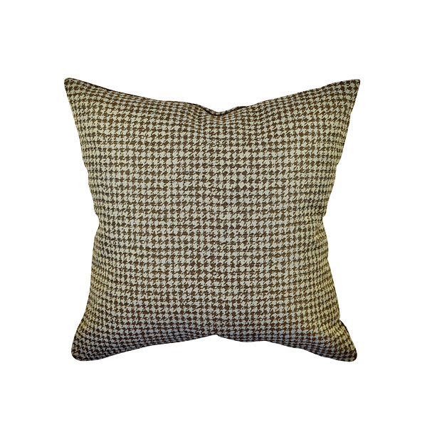 Vesper Lane Houndstooth Woven Throw Pillow
