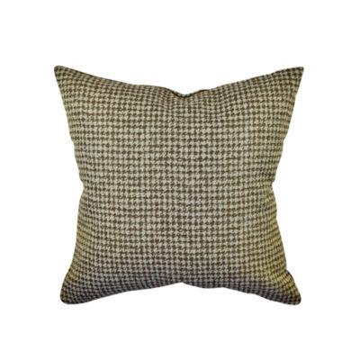 Vesper Lane Houndstooth Woven Throw Pillow