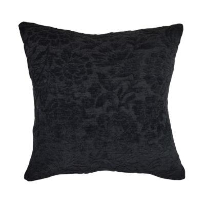 Vesper Lane Damask Flocked Throw Pillow