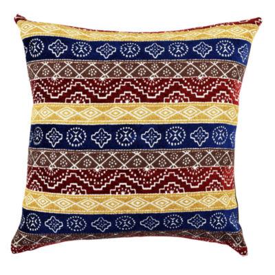 Vesper Lane Eclectic Stripe Designer Throw Pillow