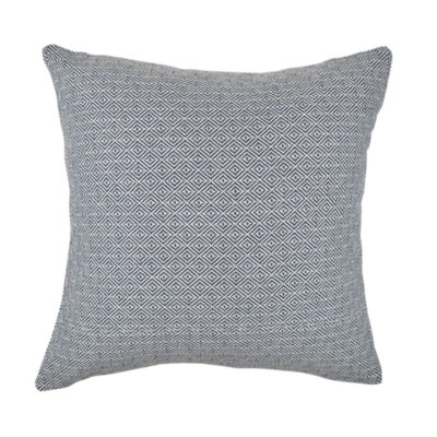Vesper Lane Intricate Geometric Woven Throw Pillow