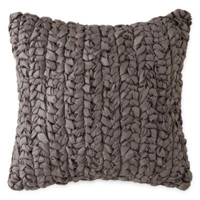 Studio Hawthorne Braided Square Throw Pillow