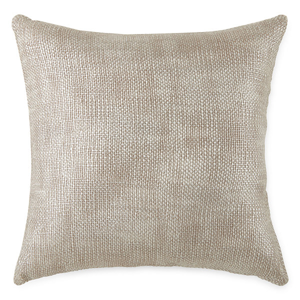 Studio Hawthorne Metallic Square Throw Pillow