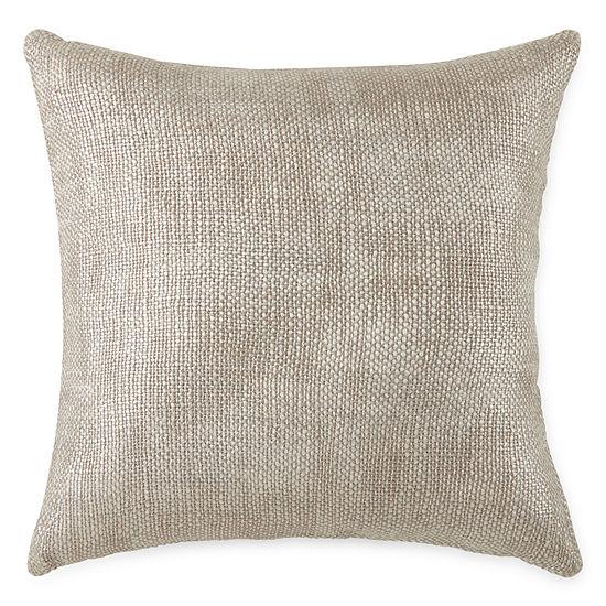 Studio Hawthorne Metallic Square Throw Pillow