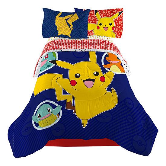 Pokemon 4-pc. Pokemon Midweight Reversible Comforter Set