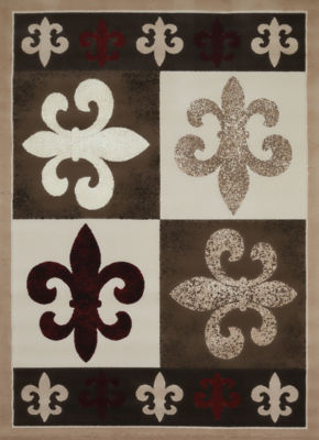 United Weavers China Garden Collection French Quarter Rectangular Rug