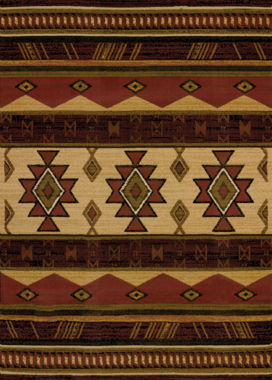 United Weavers China Garden Collection Southwest Wind Rectangular Rug