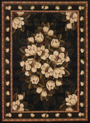 United Weavers China Garden Collection Sugar Magnolia Rectangular Rug