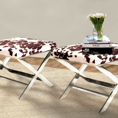 Chic Home Diddle Ottoman