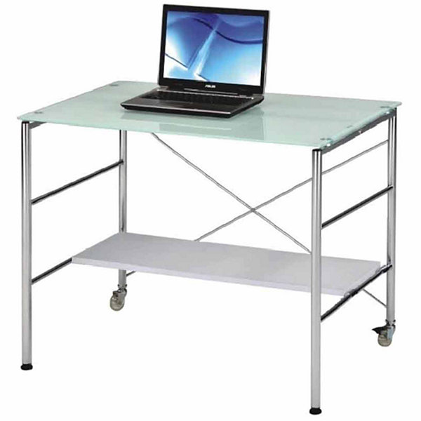 Writing Desk or Computer Glass Table