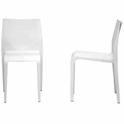 Baxton Studio Blanche 2-pc. Side Chair