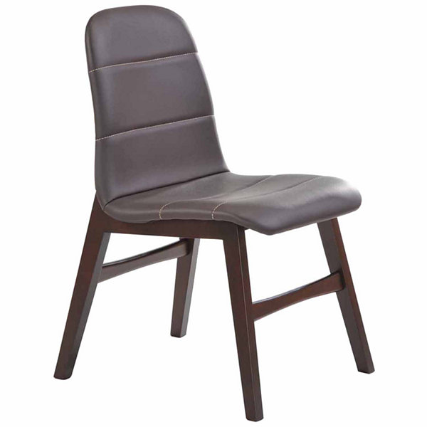 Upholstery Dining Chair With Wooden Frame