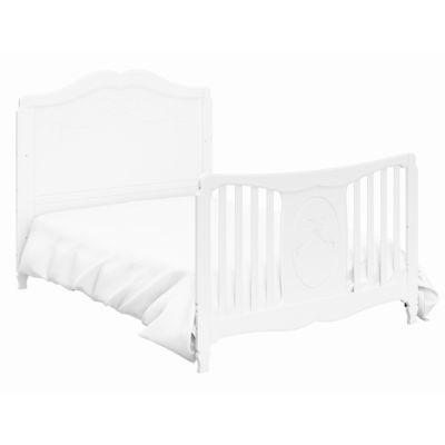 Storkcraft Princess 4-in-1 Convertible Crib - White
