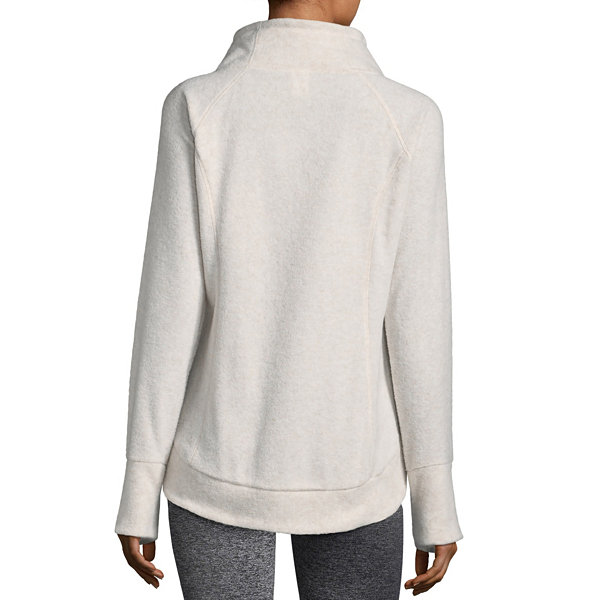 Xersion Brushed Fleece Funnel Pullover