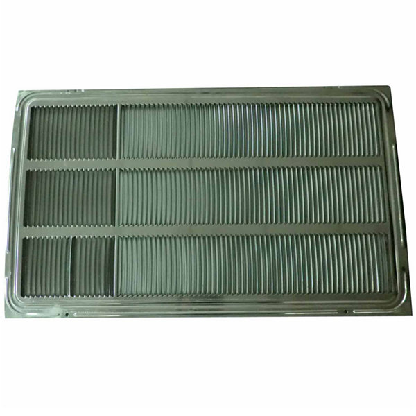 "LG Stamped Aluminum Rear Grille for 26"" Wall Sleeve - AXRGALA01"