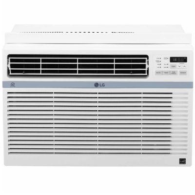 LG 8,000 BTU Smart Wi-Fi Enabled Window Air Conditioner with Remote Control - LW8017ERSM