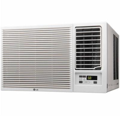 LG 18,000 BTU 230V Window-Mounted Air Conditioner with Remote Control - LW1816HR