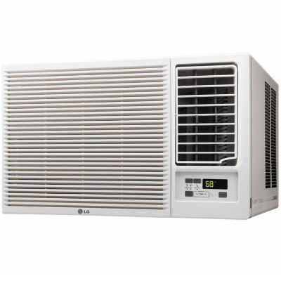 LG 23,000 BTU 230V Window-Mounted Air Conditioner with Remote Control - LW2416HR
