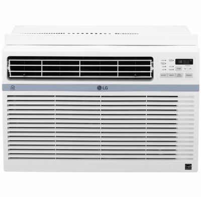 LG 12,000 BTU Smart Wi-Fi Enabled Window Air Conditioner with Remote Control - LW1217ERSM