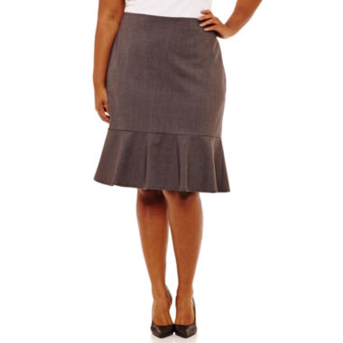 Worthington Pencil Skirt Plus