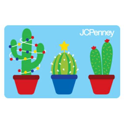 Christmas Cactus Gift Card