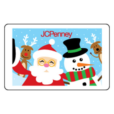 Santa Selfie Gift Card