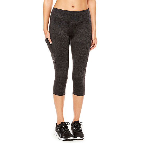 1541fd5db837bb Xersion™ Essential Side Pocket Performance Capris - JCPenney