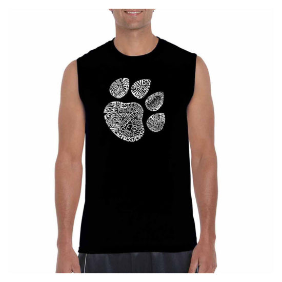 Los Angeles Pop Art Catpaw Tank Top