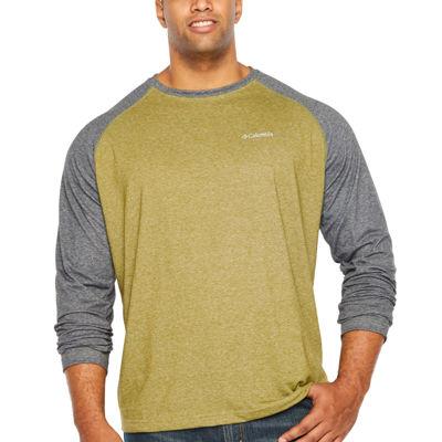 Columbia Long Sleeve Crew Neck T-Shirt-Big