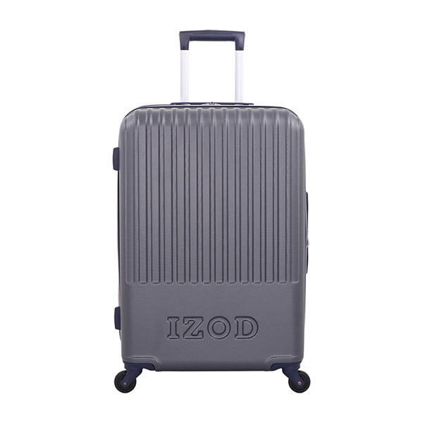 IZOD Dockside 24 Inch Hardside Lightweight Luggage