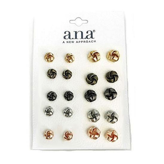 a.n.a 10 Pair Earring Set