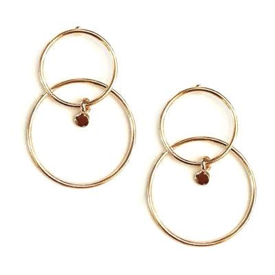 a.n.a 38mm Hoop Earrings