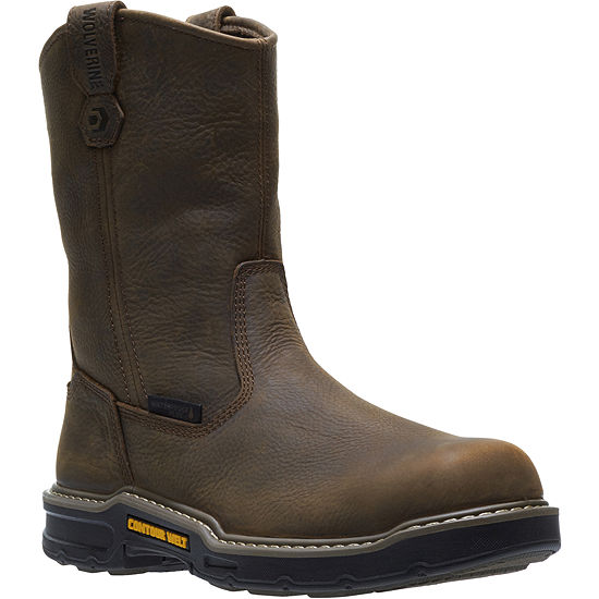 Wolverine Mens Bandit Waterproof Slip Resistant Composite Toe Work Boots Pull-on