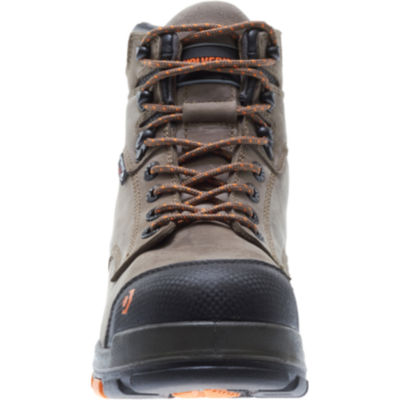 Wolverine Mens Blade Lx Waterproof Slip Resistant Composite Toe Lace-up Work Boots