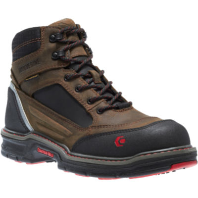 "Wolverine® Overman 6"" Mens Safety-Toe Work Boots"