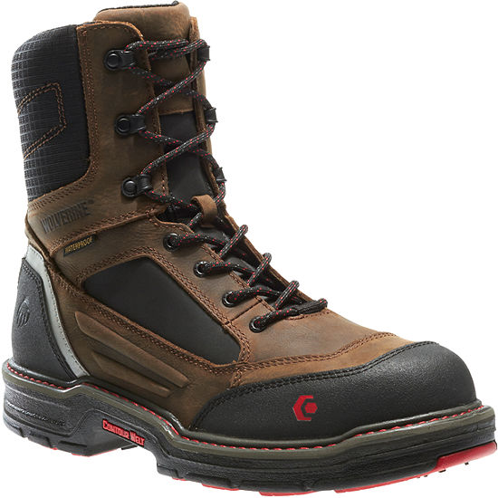 Wolverine® Overman Mens Safety-Toe Work Boots