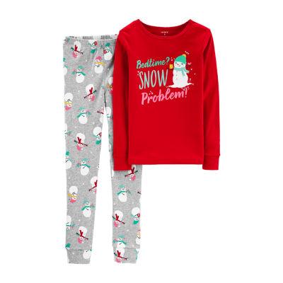 Carter's 2-Pc. Pajama Set Girls - Preschool Girls 2-pc. Pant Pajama Set Girls