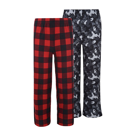 Hanes Boys 2 Pack Print Sleep Pant