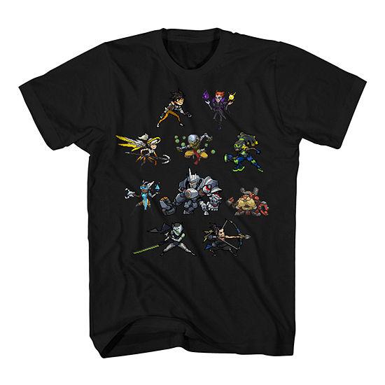 Boys Crew Neck Short Sleeve Graphic T-Shirt - Preschool / Big Kid