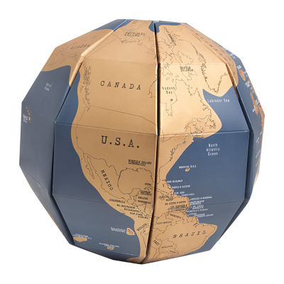 Hammer + Axe Scratch Off Globe