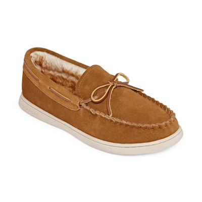 Rockport® Suede Moccasin Slippers - Wide