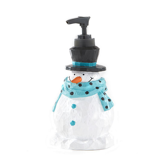 Saturday Knight Holiday Snow Buddies Soap Dispenser