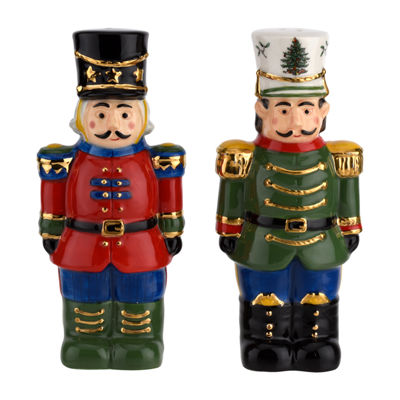 Spode Spode Christmas Tree Salt + Pepper Shakers