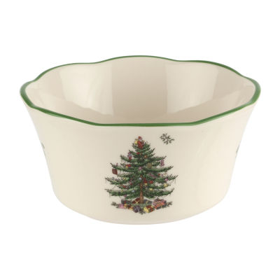 Spode Spode Christmas Tree Serving Bowl