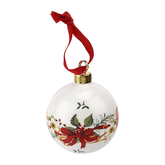 spode christmas tree solid ornament